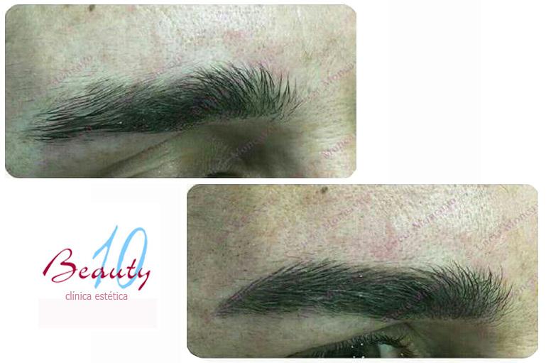 cejas masculinas micropigmentación