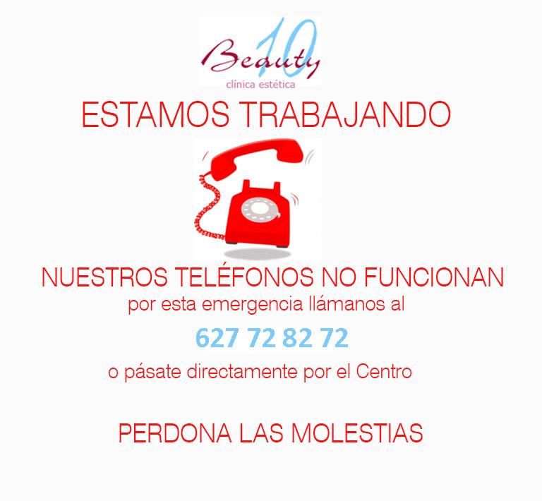 NO TENEMOS TELEFONO